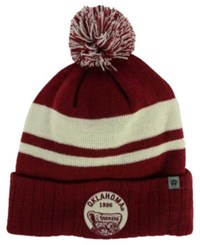 Top Of The World Oklahoma Sooners Agility Knit Hat Burgundy White