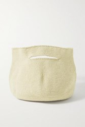 Lauren Manoogian Soft Baby Bowl Pima Cotton And Linen Blend Tote Neutral