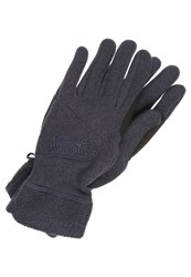 Jack Wolfskin Caribou Gloves Night Blue Dark Blue