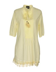 Twin Set Jeans Blouses Light Yellow