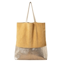 East Contrast Tote Bag Lemon