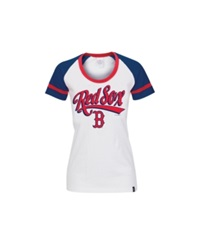 5Th And Ocean Women's Boston Red Sox Athletic Foil T Shirt