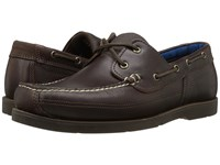 Timberland Piper Cove Leather Boat Shoe Medium Brown Full Grain Men's Lace Up Casual Shoes