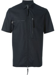 Blood Brother Zip Pocket Shirt Black