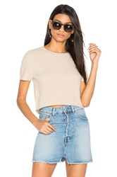 Theperfext Doheny Crop Top Beige