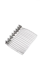 House Of Harlow Migration Comb Silver White