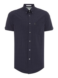 Ben Sherman Classic Gingham Check Shirt Black