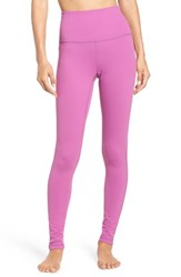 Zella Women's Live In High Waist Leggings Purple Striking