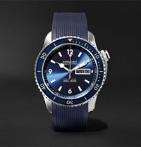 Bremont Supermarine S500 Automatic 43Mm Stainless Steel And Rubber Watch Blue