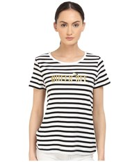 Kate Spade Queen Bee Tee Fresh White Women's T Shirt Multi