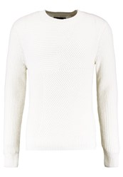 Levi's Made And Crafted Lmc Pieced Sweater Jumper Pristine White