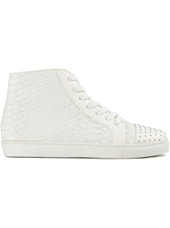 Thakoon Addition 'Elga' Hi Top Sneakers White