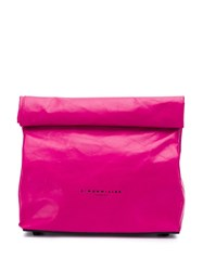 Simon Miller Small 'Lunch Bag' Clutch Pink