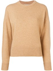 Pringle Of Scotland Cashmere Sweater Neutrals