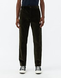 Norse Projects Albin Corduroy Pant In Beech Green