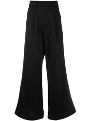 Puma Super Flared Trousers Black