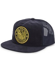 Obey Chaos And Dissent Snapback Trucker Cap Navy