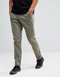 Esprit Cargo Trouser In Light Khaki Khhaki 360 Green