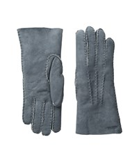 Hestra Sheepskin Gloves Grey Ski Gloves Gray