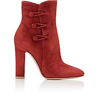 Gianvito Rossi Women's Savoie Ankle Booties Burgundy