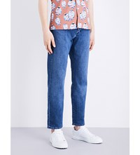 Gieves And Hawkes Regular Fit Tapered Jeans Denim