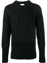 Helen Lawrence Split Ribbed Jumper Black