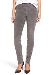 Jag Jeans Women's Nora Pull On Stretch Skinny Corduroy Pants Smokey Grey