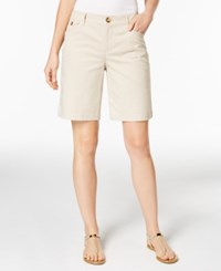 Charter Club Twill Shorts Only At Macy's Sand