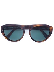 Oliver Goldsmith 'Gopas' Sunglasses Brown