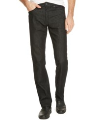 Kenneth Cole Reaction Men's Straight Fit Dark Wash Jeans