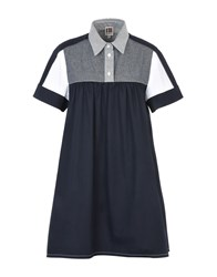 I'm Isola Marras Short Dresses Dark Blue