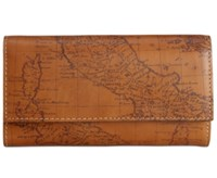 Patricia Nash Signature Map Terresa Wallet Riot Rust
