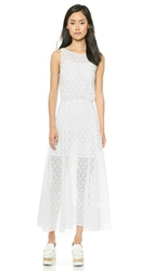 Rebecca Minkoff Dina Maxi Dress White