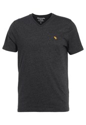 Abercrombie And Fitch Pop Icon Basic Tshirt Black