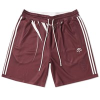 Adidas By Alexander Wang Originals Short Burgundy