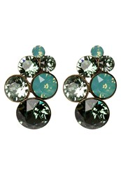 Konplott Petit Glamour Earrings Green Antique