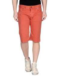 Replay Denim Bermudas Red