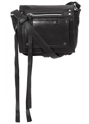 Mcq By Alexander Mcqueen Mini Black Leather Cross Body Bag