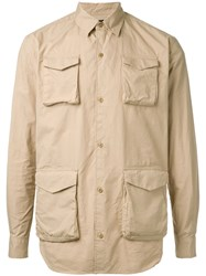 Undercover Pocket Front Shirt Nude Neutrals