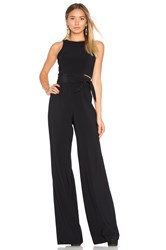 Jay Godfrey Johnson Jumpsuit Black