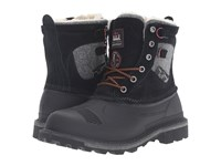 Woolrich Fully Wooly Lace Black Men's Boots