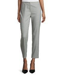 Escada Low Rise Cropped Pants Smaraged
