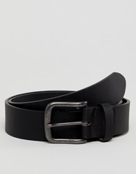 New Look Faux Leather Belt In Black