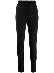 Balmain Tailored Slim Fit Trousers Black