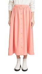 Chinti And Parker Full Skirt Dusty Rose
