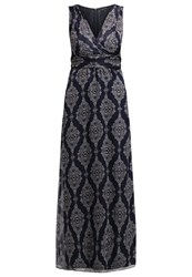 More And More Maxi Dress Marine Multi Dark Blue