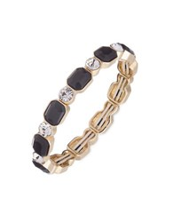 Anne Klein Studded Bangle Bracelet Black