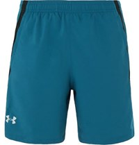 Under Armour Launch Mesh Panelled Shell Shorts Blue