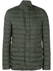 Herno Nuage Quilted Jacket Green