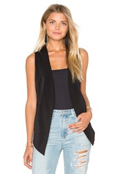 Bcbgeneration Open Vest Black